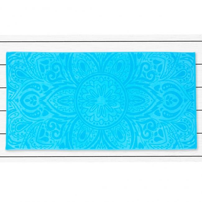 DecoKing - ręcznik plażowy 100% bawełny - 90x180cm - MANDALA