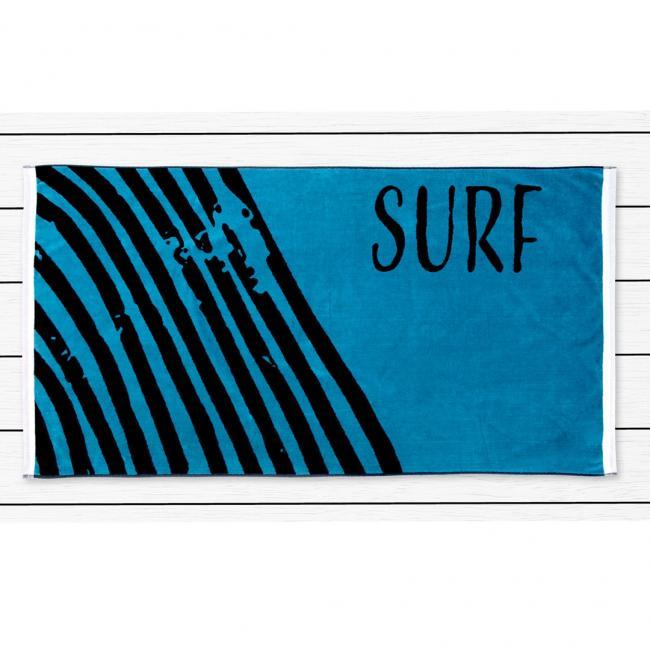 DecoKing - ręcznik plażowy 100% bawełny - 90x180cm - SURF