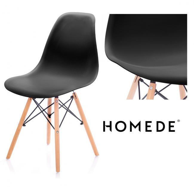 Krzesło - czarne