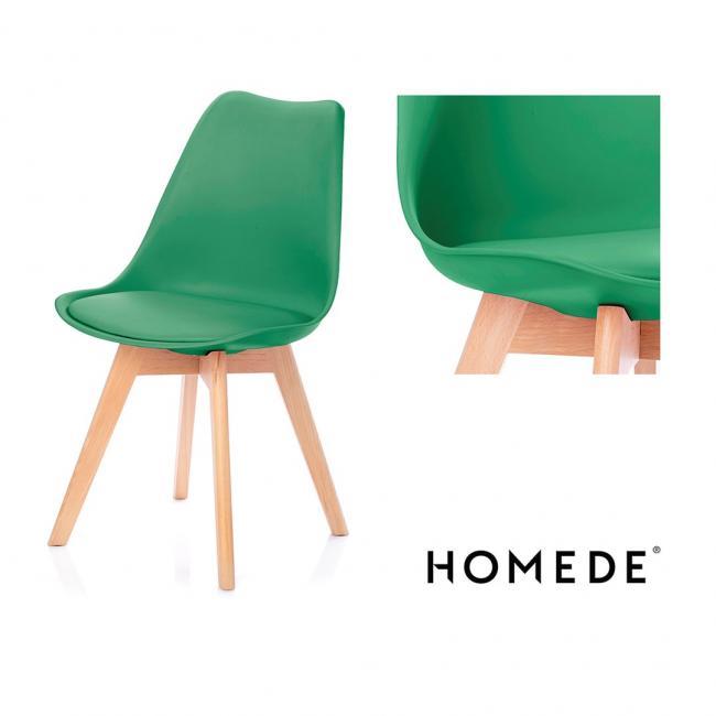 Krzesło - ciemnozielone