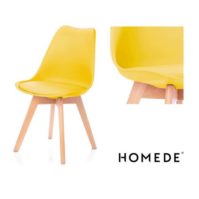 Krzesło - żółte