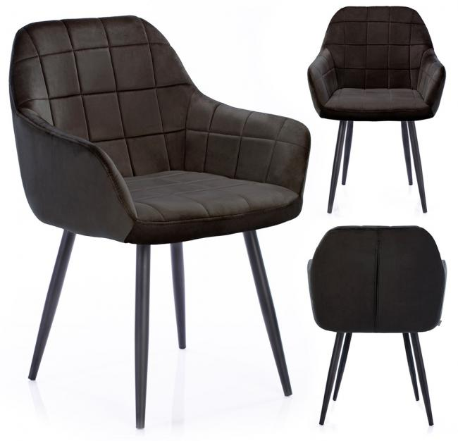 Krzesło STILLO brązowe