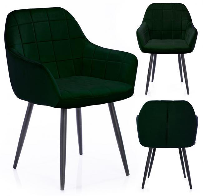 Krzesło STILLO ciemna zieleń