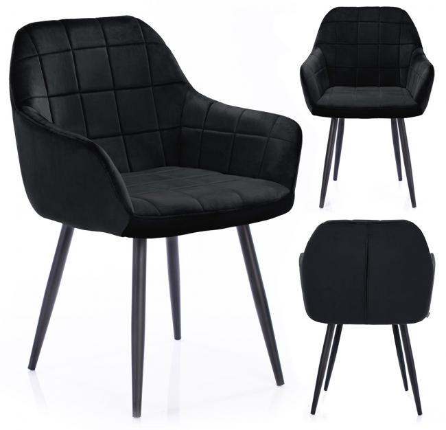 Krzesło STILLO czarne