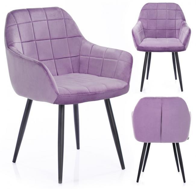 Krzesło STILLO liliowe