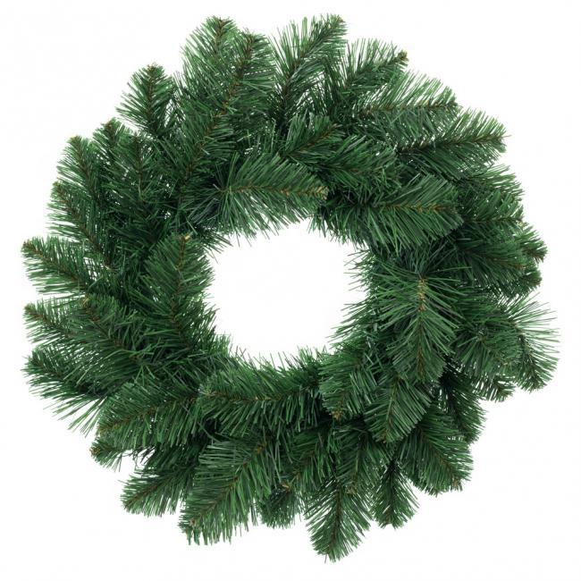 DecoKing - Wieniec bożonarodzeniowy - zielony - sztuczna sosna - 50 cm