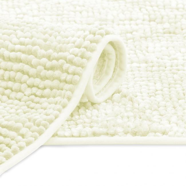 AmeliaHome - Dywanik łazienkowy - biały - różne rozmiary