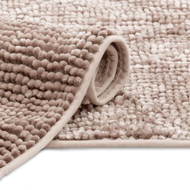 AmeliaHome - Dywanik łazienkowy - pudrowy róż - różne rozmiary