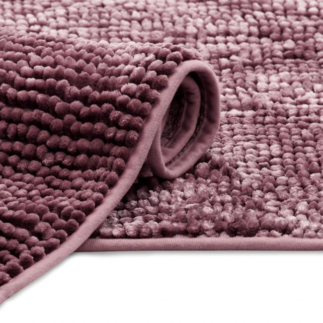 Dywanik łazienkowy - fiołkoworóżowy - różne rozmiary