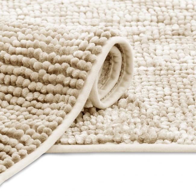 Dywanik łazienkowy - beżowy - 50x70cm