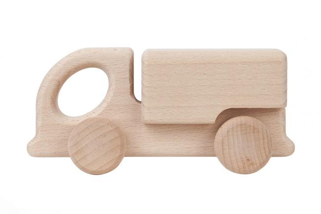 Drewniane auto - ciężarówka - różne kolory
