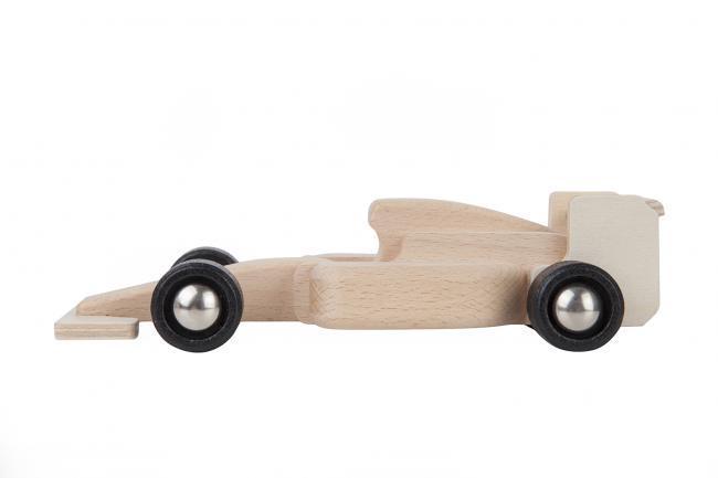 Drewniane autko - wyścigówka - różne kolory