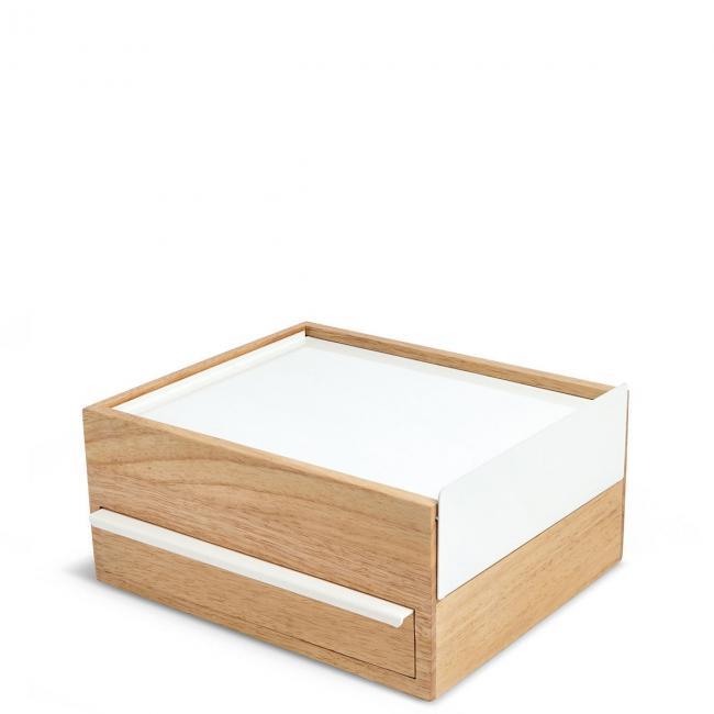 Szkatułka z 2 wysuwanymi szufladami