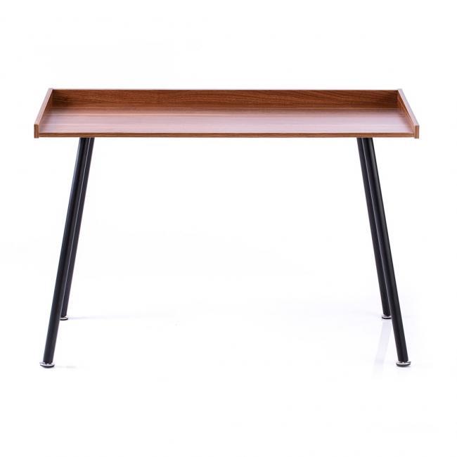 Biurko - stolik - kolor orzech - nóżki czarne