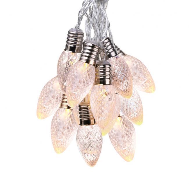 """DecoKing - Lampki LED Crystal """"szyszki"""" - 10 sztuk"""