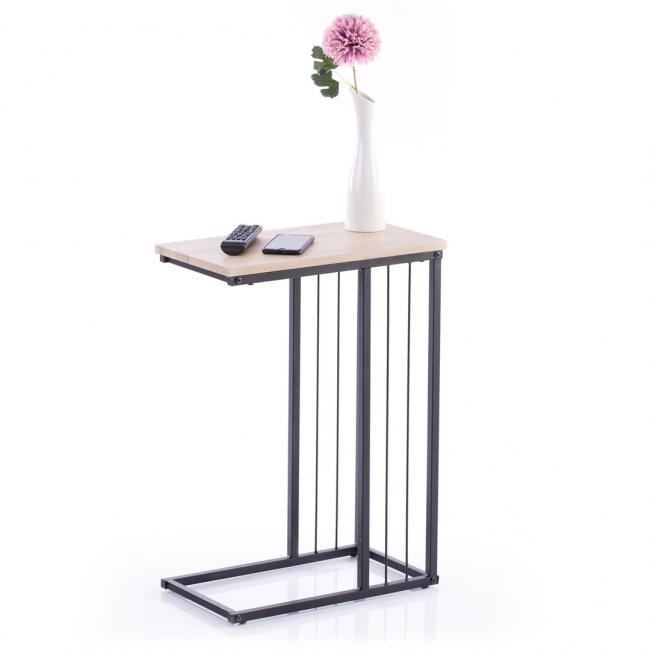 Stolik - jasnobrązowy - 63 x 45 x 25 cm