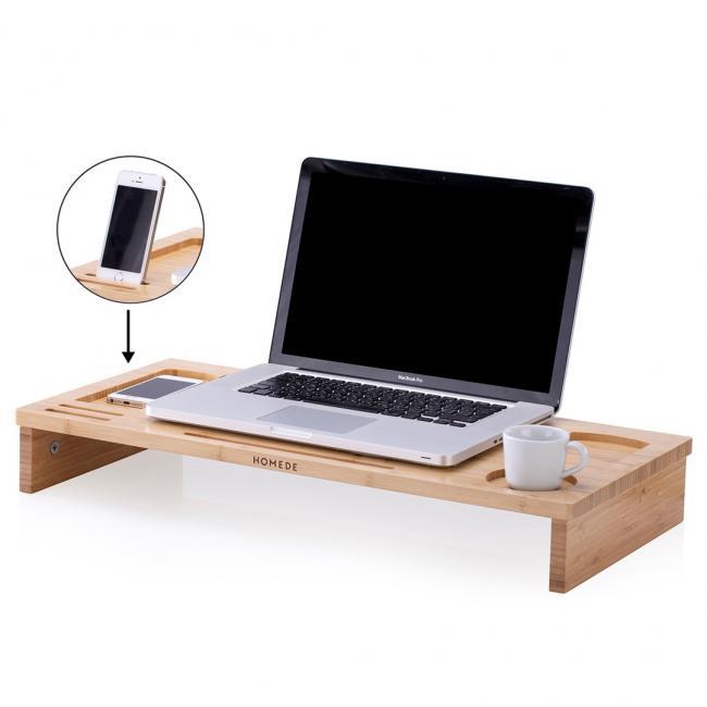 Podstawka pod laptopa - drewno bambusowe