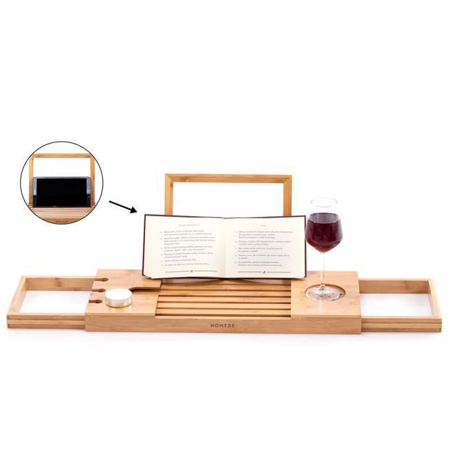 Podstawka do wanny - drewno bambusowe