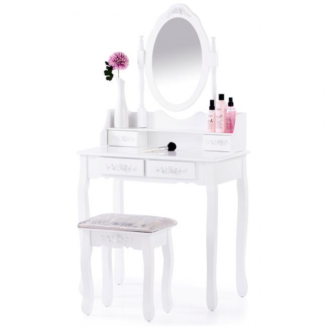 Toaletka biała