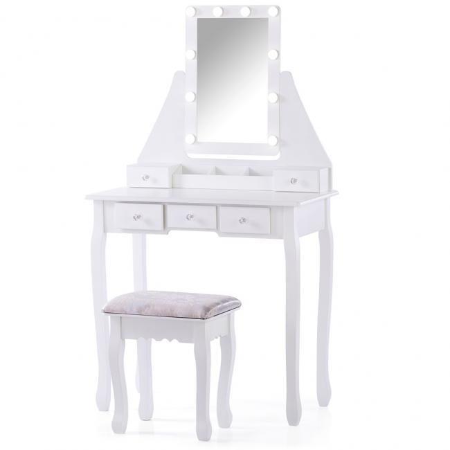 Toaletka Atalia - biała