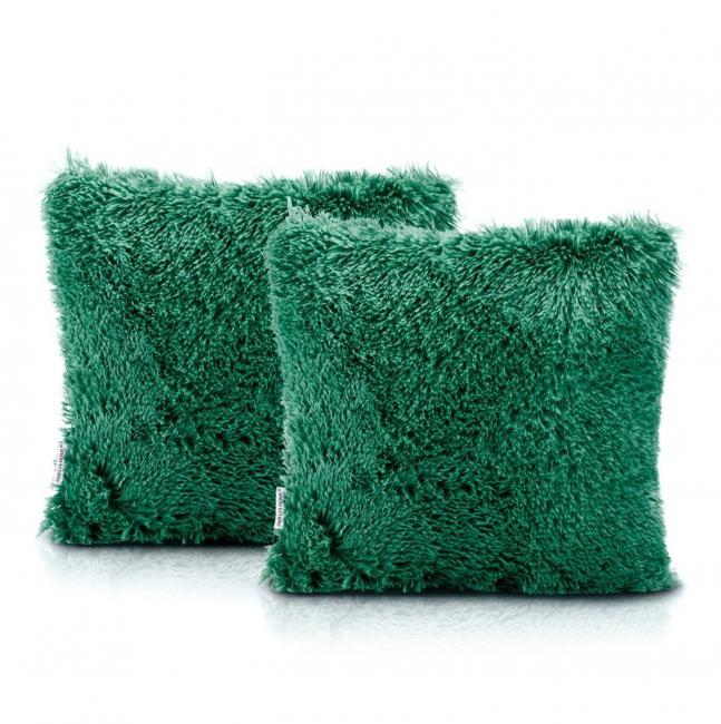 Poszewka na poduszkę 45x45 cm - 2 sztuki - zielone