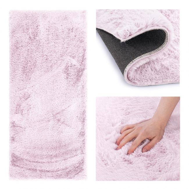 AmeliaHome - Dywan dekoracyjny  - prostokątny - liliowy