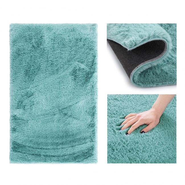 AmeliaHome - Dywan dekoracyjny - niebieski - różne wymiary - małe