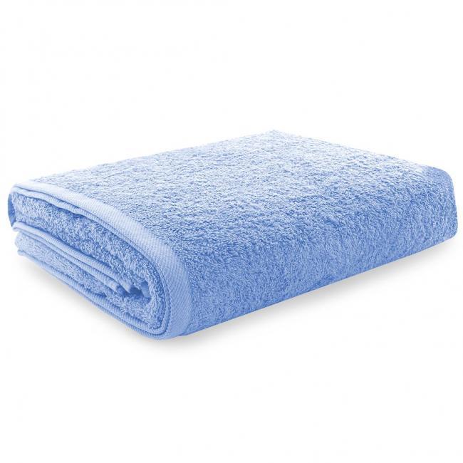 Ręcznik 100% frotte, niebieski - różne rozmiary