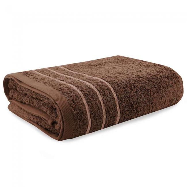 Ręcznik 100% frotte, brązowy - różne rozmiary