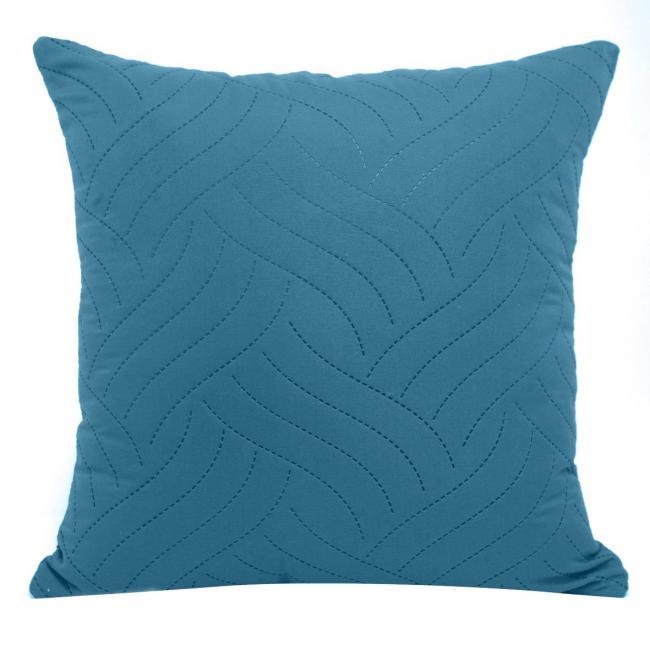 Poszewka z bawełny, niebieska, 40x40cm - 2 sztuki