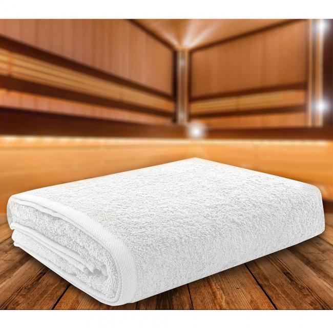 Ręcznik 100% frotte, biały - różne rozmiary