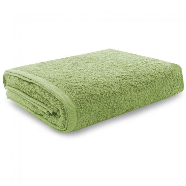 Ręcznik 100% frotte, zielony - różne rozmiary