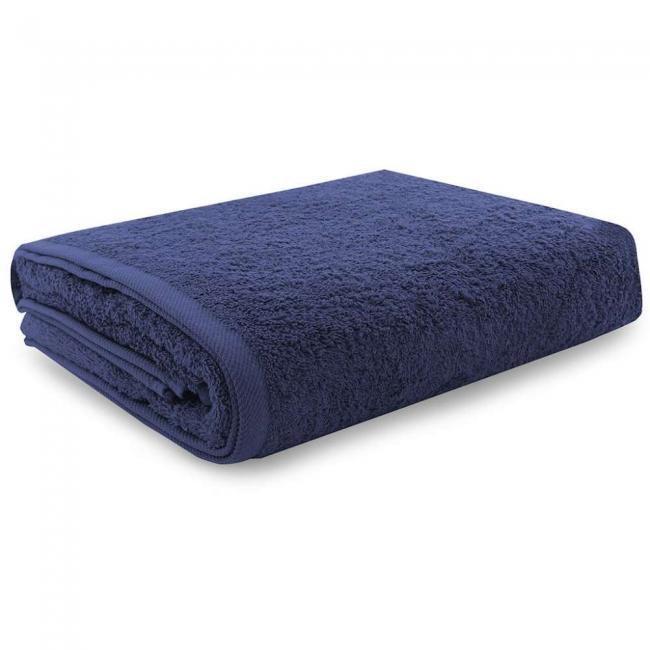 Ręcznik 100% frotte, granatowy - różne rozmiary