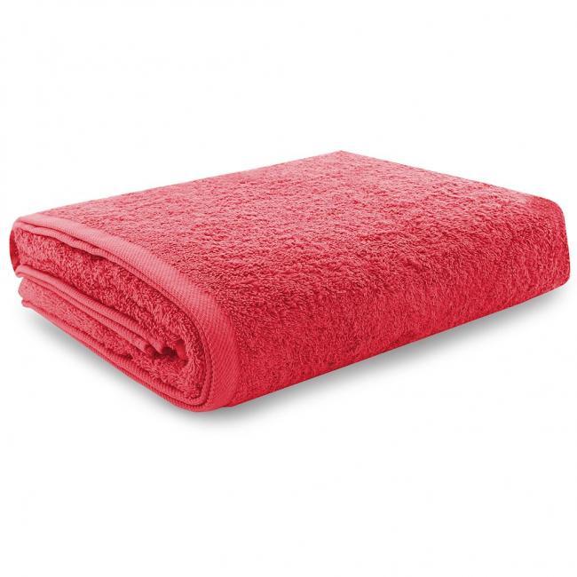 Ręcznik 100% frotte, czerwony - różne rozmiary